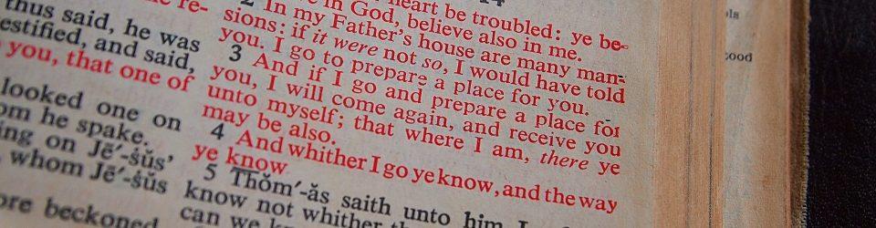 Open Bible, John 14:1-4